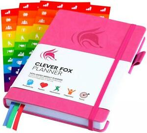 The Clever Fox Planner Best Agenda Daily Calendar To Boost Productivity