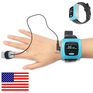 Us Ship Wrist Fingertip Pulse Oximeter Spo2 Pr 24hour Sleep Study Monitor sw Usb