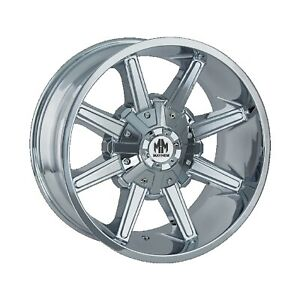 Mayhem 8104 2997c18 Arsenal 8104 Chrome 20x9 Wheel 18 Offset 110mm Hub 1 13 Lip