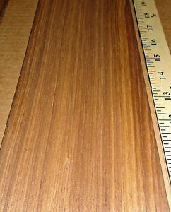 Teak Wood Veneer 5 X 114 Raw No Backing 1 42 Thickness Flexible Flitch Roll