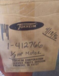 Rare New Tokheim Franklin Electric Pump For Dispenser Explosion Proof 412766