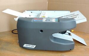 Martin Yale 1711 Electronic Autofolder Paper Folding Machine Table Top High Vol
