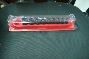 Snap on 3 8 Drive Imfs Series 5 16 13 16 With Magnetic Case And Cover