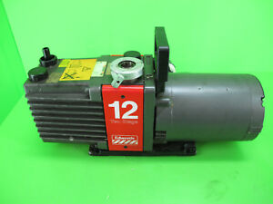 Edwards E2m12 Two Stage Rotary Vane Vacuum Pump 2 3 Phase