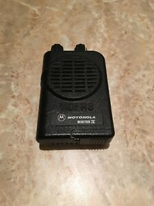 Motorola Minitor Iv 4 Pager Vhf High Band 143 174 Mhz 2 channel A03kus7239ac