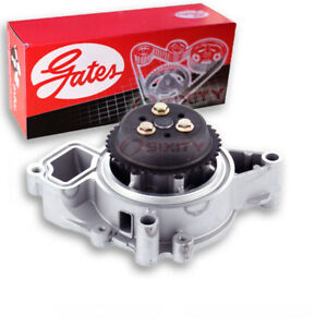 Gates Engine Water Pump For 2002 2004 Chevrolet Cavalier 2 2l L4 Coolant Fu
