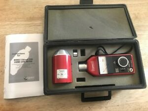 Quest Sound Noise Level Meter 211a With Calibrator Ca 12 In Case With Manual