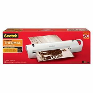 Scotch Tl1302vp Advanced Thermal Laminator Extra Wide 13 inch Input