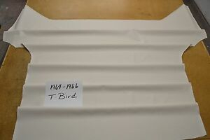 1964 64 1965 65 1966 66 Ford Thunderbird White Headliner Usa Made Top Quality