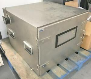 Ramsey Ste5100 Wireless Rf Shielded Test Enclosure Emi Chamber Large Stainless