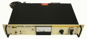 Bertan Associates Model 205a 03r High Voltage Power Supply Used Tested