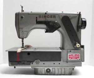 Singer 552b301 Single Needle Chainstitch Industrial Sewing Machine Head Only