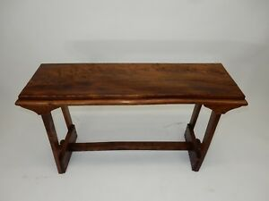 Gorgeous Chinese Intricately Carved Rosewood Altar Table Console 42 Inches