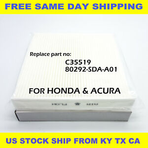 Cabin Air Filter For Honda Accord Acura Civic Crv Odyssey C35519 High Quality Us