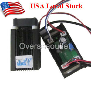 Real 1000mw 1200mw 445nm 450nm High Power Blue Laser Module Ttl Dc 12v Input