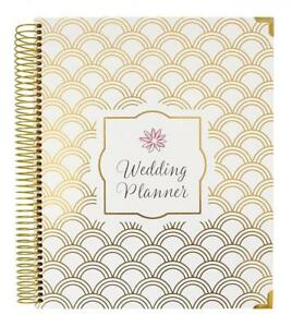 Bloom Daily Planners Undated Wedding Planner Hard Cover Day Organizer 9