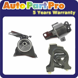 For 1993 1997 Toyota Corolla Dx 1 8l Fwd Engine Motor Trans Mount Set 3pcs
