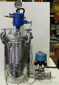 Graco 236157 Stainless Steel Paint Pressure Pot B06a W Sensors Spray Paint