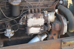 Antique Ford Tractor Fordson Major Diesel Parting Out Simms Injector Pump