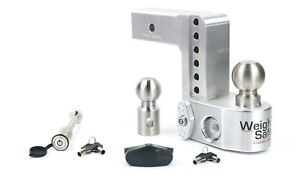 Weigh Safe Ws4 2 Adjustable Hitch Mount W Keyed alike 3 1 2 X 5 8 Lock