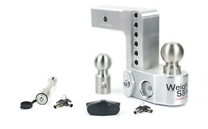 Weigh Safe Ws6 2 Adjustable Hitch Mount W Keyed alike 3 1 2 X 5 8 Lock