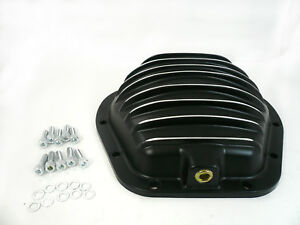 Black Aluminum Dana 60 Front Rear Differential Cover 10 Bolt Ford F250 F350