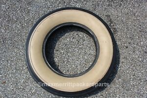 Lester 700 18 Wide White Wall Bias Ply Tire Packard Ford Chevy Antique Car