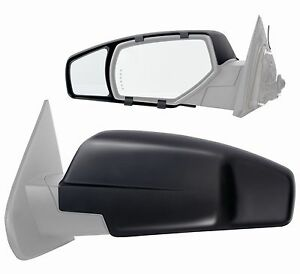 Clip on Towing Mirror Extension Pair For 2016 Chevy Silverado Gmc Sierra 1500