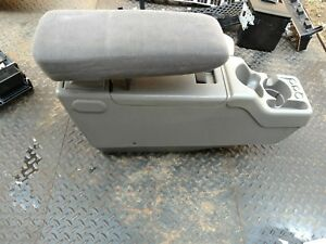83 01 Ford Ranger Center Console Armrest Bucket Seats Gray Explorer Bronco Ii
