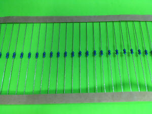 20pcs 1 8w 1 8 Watt 1 Metal Film Resistor U Pick Resistance Fast Shipping Usa