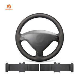 Black Pu Leather Steering Wheel Cover For Opel Astra G 1998 2004 Zafira A Agila