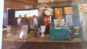 2 10 Pop Up Curved Trade Show Booths