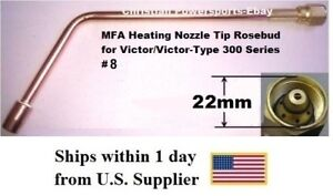 Mfa Heating Nozzle Tip Rosebud For Victor victor type 300 Series 8 1187 8