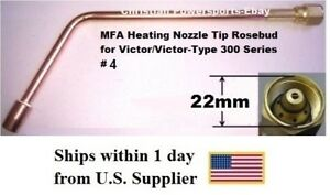 Mfa Heating Nozzle Tip Rosebud For Victor victor type 300 Series 4 1187 4