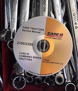Best Case Ih Combine Series 2144 2188 2344 2366 2388 Service Repair Manual Dvd