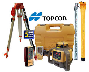 Topcon Rl h5a Db Laser Level Package Plus Ls b10 13 Ft Inches Rod