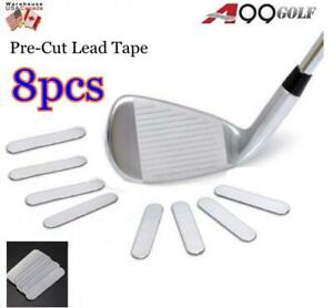 A99 Weighted Lead Tape Add Power  Weight on Golf Tennis Racket Iron Putter 8pcs