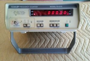 Tenma 72 375 1 3 Ghz Multifunction Frequency Counter Unit Powers Up