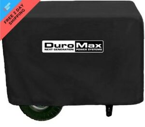 Duromax Large Weather Resistant Portable Generator Dust Guard Cover Protection