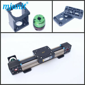 Mjunit Mj60 Linear Motion Rail Guideway System With 600mm Travel Length