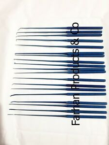 Rhoton Micro Dissector Medical Neurosurgery Surgical Instruments Plasma Coating