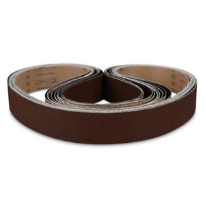 2 X 48 Knife Maker A o Sanding Belt Kit Ultra Fine Polish 1000 Grit 10 Pack