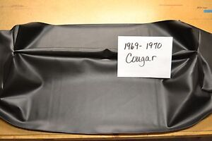 1969 69 1970 70 Mercury Cougar Convertible Black Well Liner Usa Made Top Quality