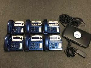 Xblue X16 6 line Small Office Phone System W 6 Blue X16 Telephones
