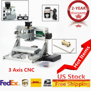 Usb 3axis Cnc 1610 Router Machine 500mw Laser Engraving Pcb Milling Wood Engrave