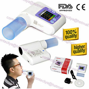 Digital Spirometer Lung Breathing Diagnostic Vitalograph Spirometry Software