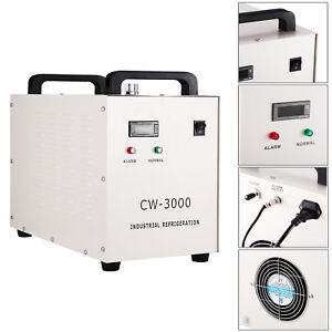 Industrial 3 Type 110v Water Chiller For Laser Engraver Machine W s