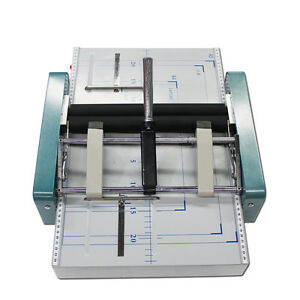 Manual A3 Paper Booklet Riding Stapler Booklet Binding Folding Machine 220v