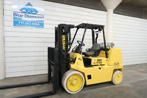 2006 Hyster S155xl2 15 500 Lp Gas Cushion Tire Forklift Triple 4 Way S s