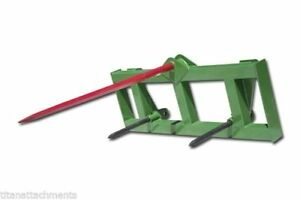 Titan Hd Global Euro 49 Hay Spear 2 Stabilizers Fit John Deere Used